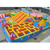 Giant Kids Fun Inflatable Jumping Castle Maze Jumping Bouncy Castle Lead Free