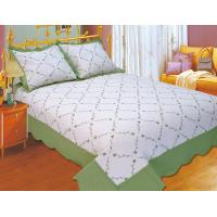 Quality Plain Color Floral Bedding Sets Silky Soft Touch For Home And Hotel for sale