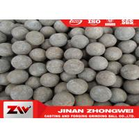 Quality High impact value steel grinding ball / grinding media steel balls Dia 20-150mm for sale