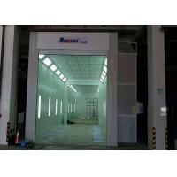 Quality 11 Meters Industrial Truck Spray Paint Booth Roller Door 11X5X5 M Internal Size for sale