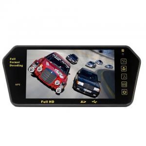 Buy cheap HD USB Bluetooth Car Rear View Mirror Monitor Reversing Back Sight Surveillance from wholesalers