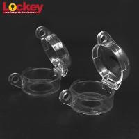 Quality Lockey Electrical Switch Lockout Transparent Safety Emergency Stop Button for sale