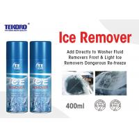 Quality High Performance Ice Remover Spray For Automotive Wiper Blades / Headlights / Mirrors for sale