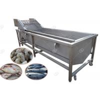 Quality Bubble Cleaning Fish Washing Machine , Henan GELGOOG Machinery High Efficiency for sale