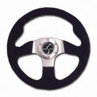 Quality Steering Wheel, Made of Finest Rugged Materials, Comes in Black for sale