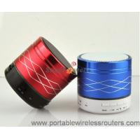 Quality Metal Jacket Mini Bluethooth Speaker with Dual Ring LED colorful marquees for sale