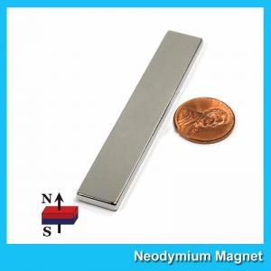 China N45 Super Strong Neodymium Magnet Bar Block 3x 1/2x 1/8 inch Big Size on sale