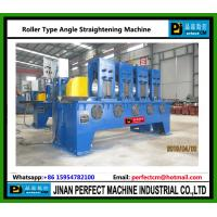 Quality Roller Type Angle Straightening Machine China Supplier for Tower Fabrication Machines for sale