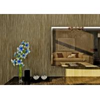 China Coffee Durable Modern Wallpaper For Bedrooms , Hotel Modern Wall Covering on sale