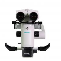 Quality Binoculars Type Dental Operating Microscope 9.8mm-62.5mm Zoom With White Case for sale