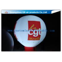 Quality Rental Inflatable Advertising Balloon With Bottom , Custom Inflatable Balloons With Light for sale