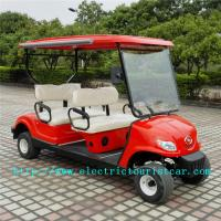 Quality Fashion Red Electric Club Car Precedent Golf Cart ABS Plastic Body Material for sale