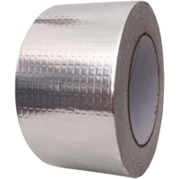Quality cheap self adhesive butyl rubber super waterproof sealing tape with aluminium foil for roof for sale