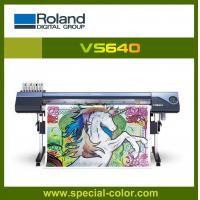 China Roland VS640 DX7 Head Digital Printing Machine on sale