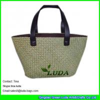 fd54bc0333 Buy cheap fashion beach bag with patternss natural seagrass straw tote bags  from wholesalers