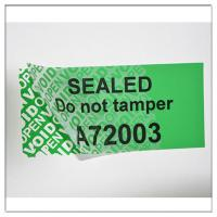 Quality Anti-Tamper PET Security Warranty VOID Stickers,Custom Made VOIDTamper  Evident Hologram Sticker for sale