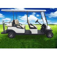 Electric Powered 6 Seater Golf Cart / 6 Passenger Club Car With USA Trojan Battery