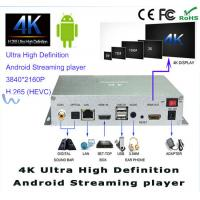 China 3840 X 2160P UHD 4K Digital Android Streaming HD Digital Signage Player on sale
