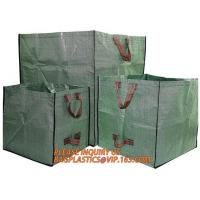 Quality garbage Pop Up Garden Leaf Collector Bag,grow bags,gardening bags sacks,plastic grow bags ,pop up garden waste sack for sale