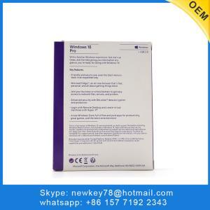 Quality Microsoft Windows 10 Pro Oem Key Coa Sticker Multi Language Operating System for sale