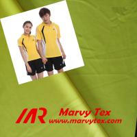 Quality 100% polyester weft knitted interlock fabric for sportswear for sale