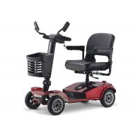 Quality Max 28km/H Electric Mobility Scooter 175*700*110cm Red Black Lead Acid Battery for sale