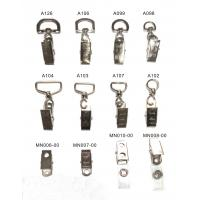 10mm / 25 mm Durable Lanyard Accessory Clip Eco Friendly For Name Badge