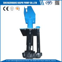 Buy cheap 150SV-SPR China Supplier Acid Resistant Rubber Liner Vertical Type Mining Slurry Pump from Wholesalers