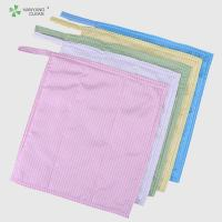 Quality durable anti static microfiber cleaning cloth,cleaning cloth factory for sale