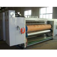 Quality 3 Color Corrugated Box Print And Cut Machine With Automatic Feeding 60pages/Min for sale