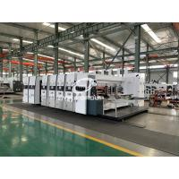 Quality High Speed Corrugated Box Printing Machine, Flexo Printer Computer Slotter Die Cutter Machine for sale