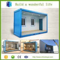 China Green house construction 20ft used shipping container house for sale on sale