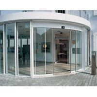 China Office Building Curved Sliding Doors on sale