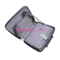 China Zipper Silver PP Panel Aluminum Computer Cases / Laptop Cases , Waterproof on sale