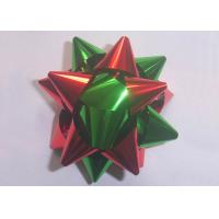 """Multi material and colors gift decoration star bow christmas decoration 2"""" - 4"""""""