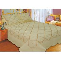 Quality Household Bedroom Embroidery Quilt Kits No Bleaching With Machine Made Technics for sale