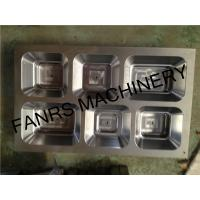 Quality Six Compartments Food Aluminum Foil Container Mould High For Container Punching for sale