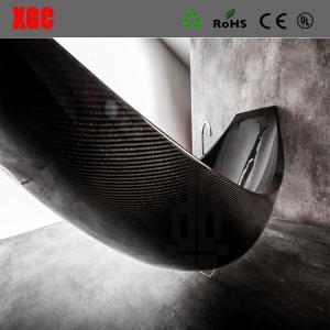 China Carbon Fiber Vessel Hammock Bathtub bathtub for hotel  trendy style popular free standing bathtub fast on sale