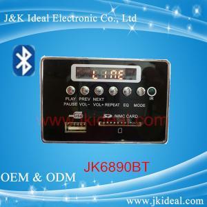 Quality JK6890BT   SD card usb aux fm bluetooth mp3 player module for amplifier for sale
