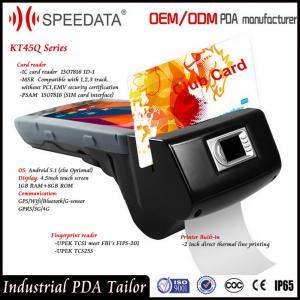 China 4G Handheld Smart Card Reader , PDA Wireless Rfid Reader in Magnetic MSR Card on sale
