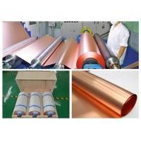 China 35um Copper Sheet Roll For High Frequency Microwave Circuit IPC 4562 Standard on sale