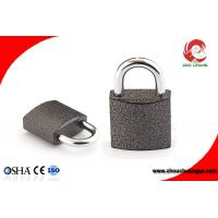 Buy cheap High Security Iron Chrome Plated Black Color Iron Padlock 50mm from wholesalers