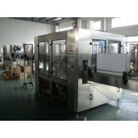 Quality 2400BHP 3-in-1 Pet / Glass Bottle Filling Machine For 350ml  Cola , Soda water for sale