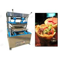 Quality Semi Automatic Pizza Cone Machine For Making Cone Shaped Pizza CE Certification for sale