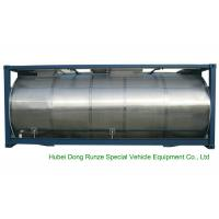 Quality 316 Stainless Steel ISO Tank Container 20 FT For Wine / Fruit Juices / Vegetable Oils for sale