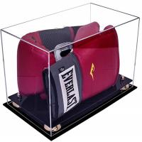 Quality Deluxe Acrylic Led Light Box , Custom Size Boxing Glove Display Case for sale
