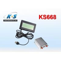 Quality Two Way Voice Communication Vehicle GPS Tracker Work With Handset On RS232 Port for sale