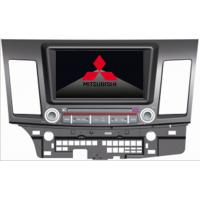China MITSUBISHI LANCER Automobile DVD Players MP3 CD GPS With Steering Wheel Control on sale