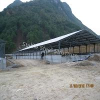 Structural Steel Poultry House for Pig or Goat Barns with high standard quality