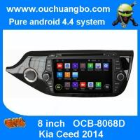Quality Ouchuangbo Auto GPS Navigation 3G Wifi Bluetooth for Kia Ceed 2014 DVD Media Player Android 4.4 Radio OCB-8068D for sale